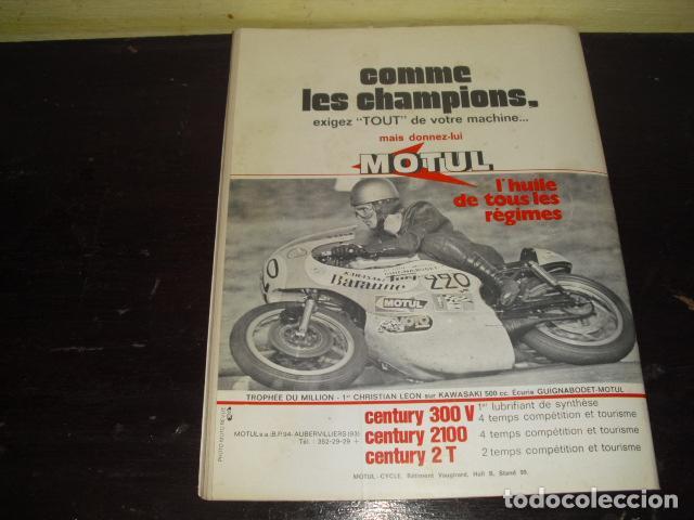 Coches y Motocicletas: MOTO REVUE Nº 2099 - AÑO 1972 - PRUEBA BMW R75/5 - BENELLI 750 6 CILINDROS. - Foto 9 - 148678498