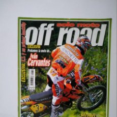 Coches y Motocicletas: REVISTA SOLO MOTO OFF ROAD Nº 50 KTM 125 SX GAS GAS 300 BETA ENDURO SHERCO SCORPA RED BULL X FIGHTER. Lote 149322218