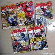 Coches y Motocicletas: LOTE REVISTA SOLO MOTO - AÑO 2000 - ALEX CRIVILLÉ ROBERTS GRAN PREMIO FRANCIA ESPAÑA CHESTE VALENCIA. Lote 149387734