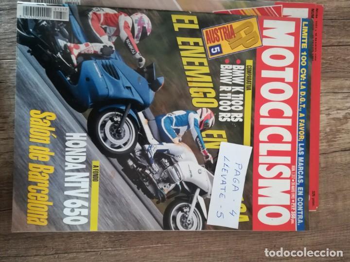 REVISTA MOTOCICLISMO 1317 * BMW K 1100 RS + BMW R 1100 RS + HONDA NTV 650 * 51 (Coches y Motocicletas - Revistas de Motos y Motocicletas)