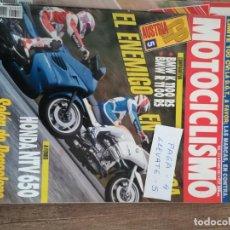 Coches y Motocicletas: REVISTA MOTOCICLISMO 1317 * BMW K 1100 RS + BMW R 1100 RS + HONDA NTV 650 * 51. Lote 149592194