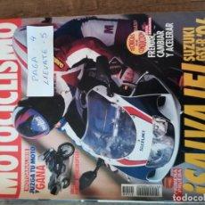 Coches y Motocicletas: REVISTA MOTOCICLISMO 1448 * SUZUKI GSX-R 750 + KAWASAKI KX 125 * 53. Lote 149703174