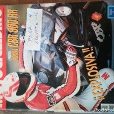 Coches y Motocicletas: REVISTA MOTOCICLISMO 1253 * HONDA CBR 900 RR + CROSS 125 * CBR 600 * 53. Lote 149703398