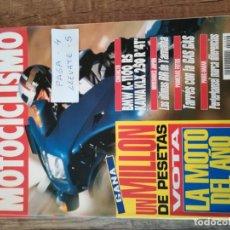 Coches y Motocicletas: REVISTA MOTOCICLISMO 1299 * BMW K-1100 RS + KAWASAKI 250 R 4T + YAMAHA OW 01 PIROVANO * 53. Lote 149703842
