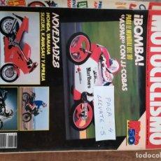 Coches y Motocicletas: REVISTA MOTOCICLISMO 1128 * APRILIA 90 + KRAUSER 80 + HUSABERG 500 C.C. + ITALJET TIFFANY * 53. Lote 149705318