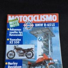 Coches y Motocicletas: REVISTA MOTOCICLISMO Nº 745 DE 1982 PRUEBA BMW R-65 LS. Lote 149927902