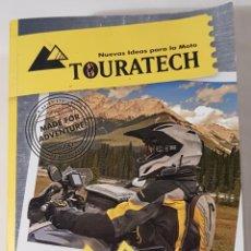 Coches y Motocicletas: GRAN CATALOGO MOTOS 25 ANIVERSARIO TOURATECH 2015. Lote 150150141