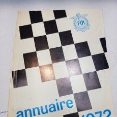 Coches y Motocicletas: ANUARIO 1972 *FEDERACIÓN INTERNACIONAL MOTOCICLISTA* (FIM) EN FRANCÉS - ÁNGEL NIETO. Lote 150160562