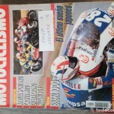 Coches y Motocicletas: REVISTA MOTOCICLISMO 1262 * GUZZI QUOTA 1000 + HONDA CBR 400 RR + SUZUKI RGF + CAGIVA MITO * 54. Lote 150369418