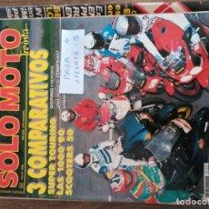 Coches y Motocicletas: REVISTA SOLO MOTO 89 * BMW K-100 LT + HONDA ST 1100 + SUZUKI GSX R + HONDA CBR + BME K-1 * 55. Lote 150605614