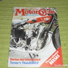 Coches y Motocicletas: THE CLASSIC MOTORCYCLE Nº 3 - 1983 - NORTON STAR,. Lote 150612270