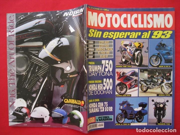 Coches y Motocicletas: REVISTA MOTOCICLISMO - Nº 1.287 - 22 OCTUBRE 1992. - Foto 3 - 150843258