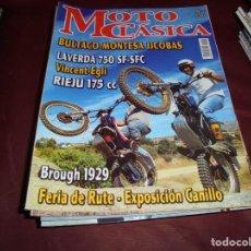 Coches y Motocicletas: MAGNIFICAS 16 REVISTAS DE MOTO CLASICA. Lote 151299230