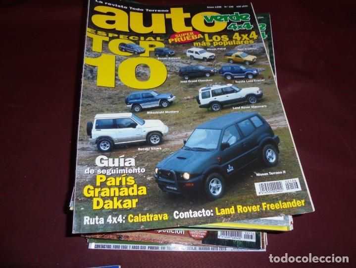 Coches y Motocicletas: magnificas 22 revistas auto verde 4x4 - Foto 2 - 151301494