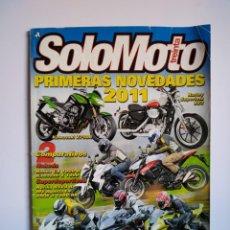 Coches y Motocicletas: REVISTA SOLO MOTO TREINTA Nº 332 HARLEY SUPERLOW KAWASAKI Z750 Z1000 MV AGUSTA F4 BMW HONDA APRILIA . Lote 151549582