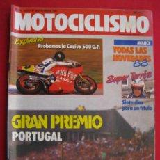 Coches y Motocicletas: REVISTA MOTOCICLISMO - Nº 1.021 - 17 SEPTIEMBRE 1987.. Lote 151551622