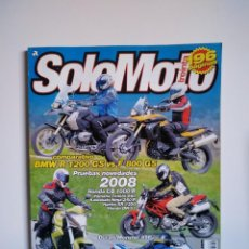 Coches y Motocicletas: REVISTA SOLO MOTO TREINTA Nº 304 BMW R1200 F800 YAMAHA TENERE KAWASAKI NINJA DUCATI MONSTER SUZUKI . Lote 151551758