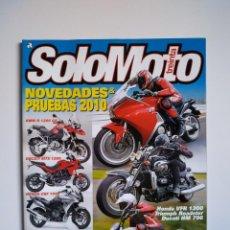 Coches y Motocicletas: REVISTA SOLO MOTO TREINTA Nº 322 BMW R1200 DUCATI MTS HONDA CBF TRIUMPH ROADSTER DUCATI HM KAWASAKI . Lote 151552718
