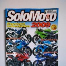 Coches y Motocicletas: REVISTA SOLO MOTO TREINTA Nº 309 SUZUKI CLADIUS KAWASAKI NINJA MOTORHISPANIA TRIUMPH STREET. Lote 151553038