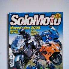 Coches y Motocicletas: REVISTA SOLO MOTO TREINTA Nº 294 KAWASAKI GTR HAYABUSA SUZUKI BANDIT SUZUKI GSX BMW KTM 690. Lote 151553314