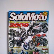 Coches y Motocicletas: REVISTA SOLO MOTO TREINTA Nº 310 HONDA SILVERWING BMW F800 R1200 K1300 DUCATI STREETFIGHTER KAWASAKI. Lote 151553662