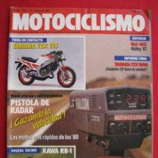 Coches y Motocicletas: REVISTA MOTOCICLISMO - Nº 1.018 - 27 AGOSTO 1987.. Lote 151599670