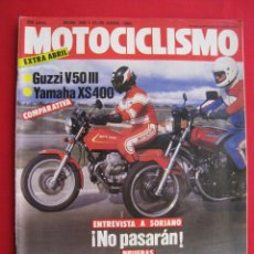 Coches y Motocicletas: REVISTA MOTOCICLISMO - Nº 849 - 22 / 28 ABRIL 1984.. Lote 151600290