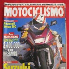 Coches y Motocicletas: REVISTA MOTOCICLISMO - Nº 1.413 - 21 AL 27 DE MARZO 1995.. Lote 151601218