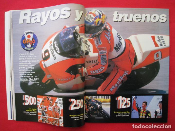Coches y Motocicletas: REVISTA MOTOCICLISMO -Nº 1.470 -23 AL 29 ABRIL 1996-POSTER GIGANTE LOS 85 CASCOS DREAM TEAM CASTROL. - Foto 6 - 151887574