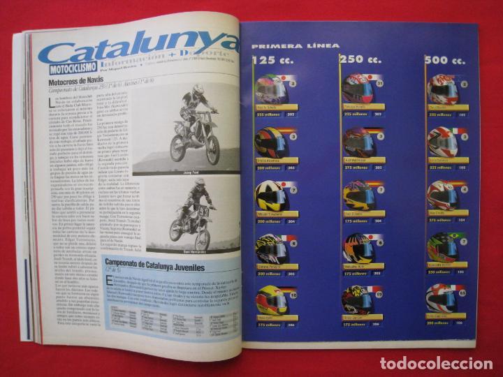Coches y Motocicletas: REVISTA MOTOCICLISMO -Nº 1.470 -23 AL 29 ABRIL 1996-POSTER GIGANTE LOS 85 CASCOS DREAM TEAM CASTROL. - Foto 7 - 151887574