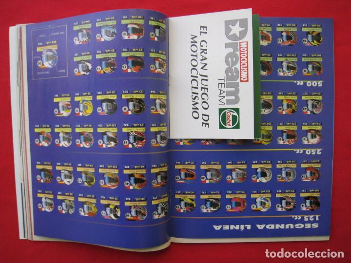 Coches y Motocicletas: REVISTA MOTOCICLISMO -Nº 1.470 -23 AL 29 ABRIL 1996-POSTER GIGANTE LOS 85 CASCOS DREAM TEAM CASTROL. - Foto 8 - 151887574
