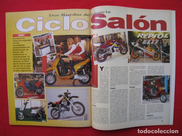 Coches y Motocicletas: REVISTA MOTOCICLISMO -Nº 1.470 -23 AL 29 ABRIL 1996-POSTER GIGANTE LOS 85 CASCOS DREAM TEAM CASTROL. - Foto 11 - 151887574