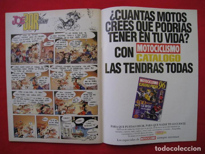 Coches y Motocicletas: REVISTA MOTOCICLISMO -Nº 1.470 -23 AL 29 ABRIL 1996-POSTER GIGANTE LOS 85 CASCOS DREAM TEAM CASTROL. - Foto 12 - 151887574