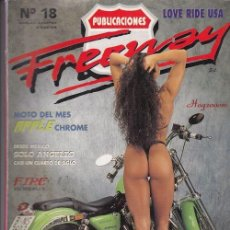 Coches y Motocicletas: FREEWAY - REVISTA HARLEY - CHOPPER - CUSTOM - MAGAZINE - Nº 18. Lote 176598792