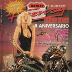 Coches y Motocicletas: FREEWAY - REVISTA HARLEY - CHOPPER - CUSTOM - MAGAZINE - Nº 24. Lote 151971298