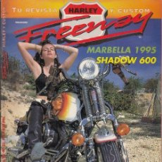 Coches y Motocicletas: FREEWAY - REVISTA HARLEY - CHOPPER - CUSTOM - MAGAZINE - Nº 22. Lote 151974494