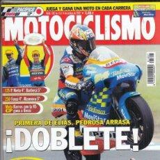 Coches y Motocicletas: REVISTA MOTOCICLISMO Nº 1807 AÑO 2002. PRUEBA: APRILIA RSV 1000 R. KAWASAKI Z 1000,. Lote 152021518