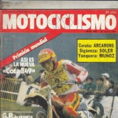 Coches y Motocicletas: REVISTA MOTOCICLISMO Nº 660 AÑO 1980. PRUEBA: MONTESA COTA 349. PRES: SWM 440 MC Y TF 1. . Lote 152029066