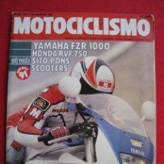 Coches y Motocicletas: REVISTA MOTOCICLISMO - Nº 1.201 - 28 FEBRERO 1991.. Lote 152033226