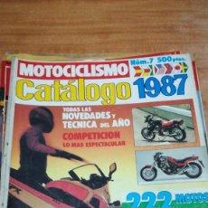 Coches y Motocicletas: LOTAZO REVISTAS MOTOCICLISMO, VARIOS AÑOS, VER LOS NÚMEROS EN DESCRIPCIÓN.. Lote 152034066