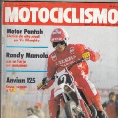Coches y Motocicletas: REVISTA MOTOCICLISMO Nº 711 AÑO 1981. PRESENTACION: ANVIAN 125 CROS Y ANVIAN 125 ENDURO.. Lote 152036262