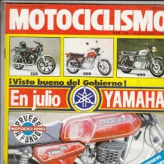 Coches y Motocicletas: REVISTA MOTOCICLISMO Nº 728 AÑO 1981. PRUEBA: DERBI T 250. GAMA PUCH.. Lote 152036574