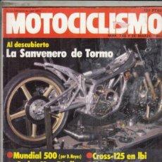 Coches y Motocicletas: REVISTA MOTOCICLISMO Nº 745 AÑO 1982. CONTACTO: MONTESA 360 H7 REPLICA CARLO MAS.. Lote 152037014