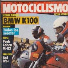 Coches y Motocicletas: REVISTA MOTOCICLISMO Nº 820 AÑO 1983. PRUEBA: PUCH COBRA M 8/2 Y PUCH COBRA M82 TT AGUA.. Lote 152038658