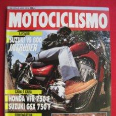Coches y Motocicletas: REVISTA MOTOCICLISMO - Nº 1.278 - 20 AGOSTO 1992.. Lote 152038698