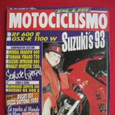 Coches y Motocicletas: REVISTA MOTOCICLISMO - Nº 1.280 - 3 SEPTIEMBRE 1992.. Lote 152039718