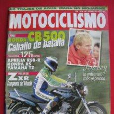 Coches y Motocicletas: REVISTA MOTOCICLISMO - Nº 1.343 - 16 AL 22 NOVIEMBRE 1993 - CON POSTER DE WAYNE RAINEY.. Lote 152040566