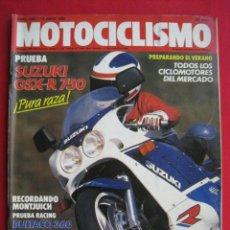 Coches y Motocicletas: REVISTA MOTOCICLISMO - Nº 1.064 - 14 JULIO 1988.. Lote 152042042