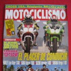 Coches y Motocicletas: REVISTA MOTOCICLISMO - Nº 1.313 - 22 ABRIL 1993.. Lote 152042526