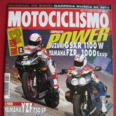 Coches y Motocicletas: REVISTA MOTOCICLISMO - Nº 1.311 - 8 ABRIL 1993.. Lote 152043114